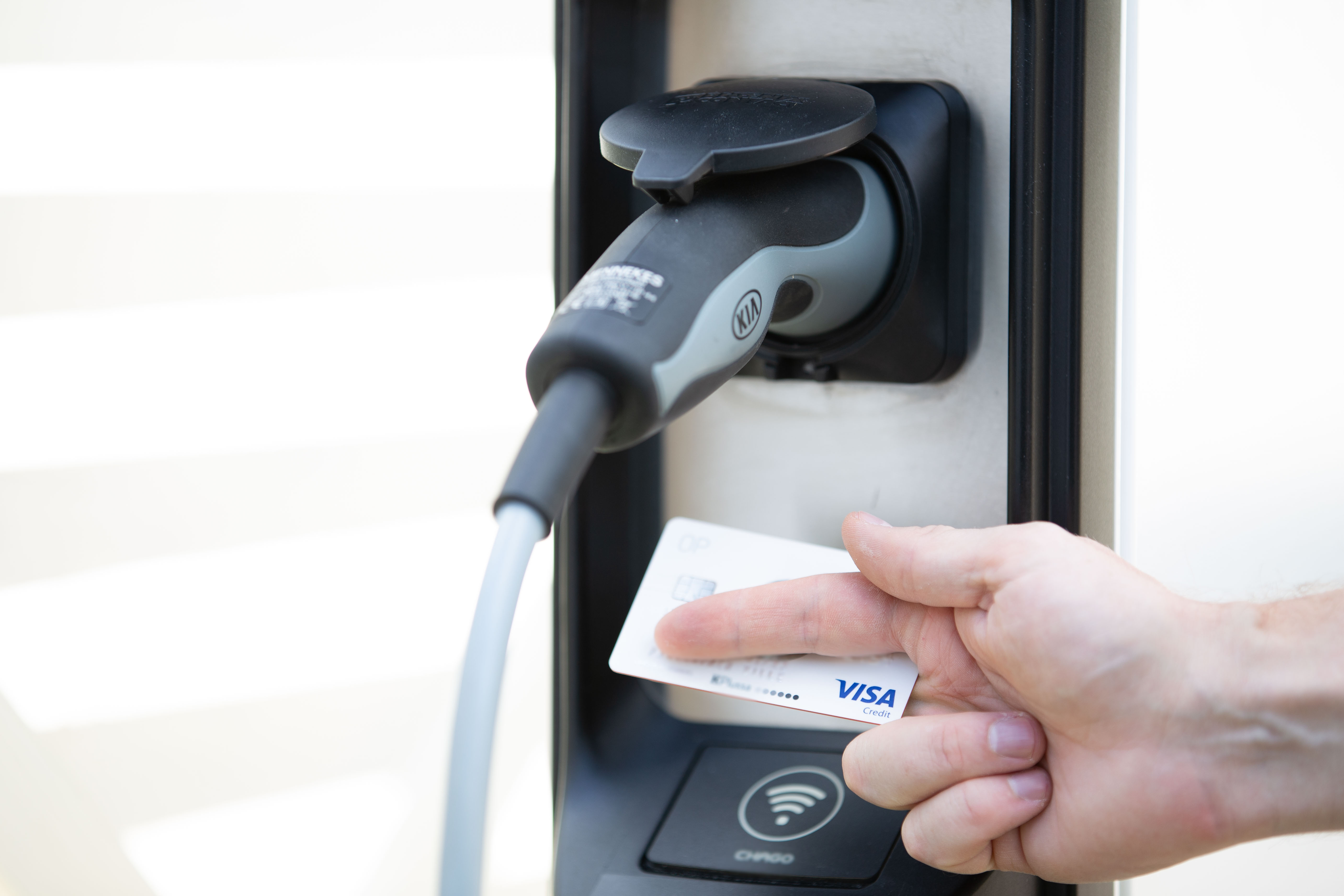 EV charging payment API